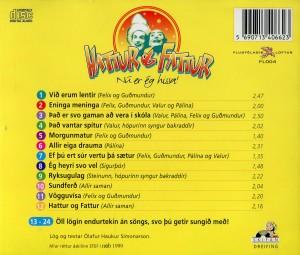 Hattur og Fattur grænir cd2