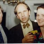 Ólafur Haukur , Örn Magnússon og frú