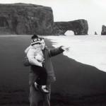 ÓHS og Freyr við Dyrhólaey