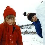 Ella og Freysi í Munaðarnesi